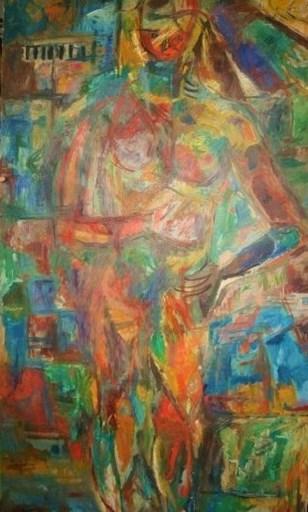 David LAN-BAR - Painting - FEMME