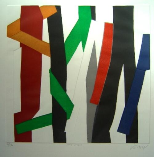 Bertrand DORNY - Estampe-Multiple - Main Street