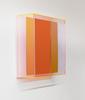 Regine SCHUMANN - Scultura Volume - Colormirror rainbow Senkrecht soft orange