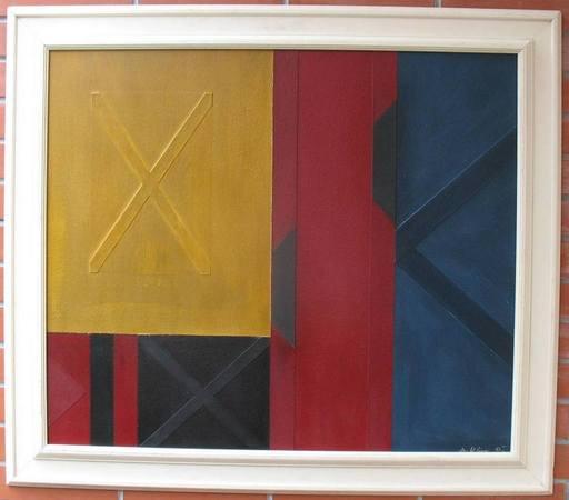 Alojz KLIMO - Gemälde - Abstraction
