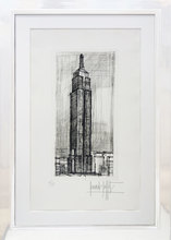 Bernard BUFFET - Estampe-Multiple - The Empire State Building