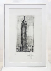 Bernard BUFFET - Print-Multiple - The Empire State Building