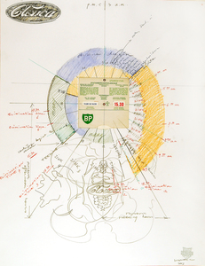 Wim DELVOYE - Drawing-Watercolor - Sans Titre (fig.129)