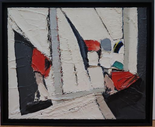 Jan MEIJER - Peinture - Souvenir d'Amorgos, le village de Chiaria