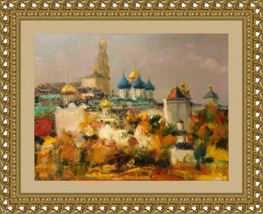 Levan URUSHADZE - Peinture - The Holy Trinity St. Sergius Lavra. Sergiev Posad
