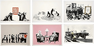 BANKSY - Barely Legal Portfolio