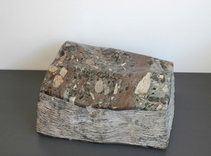Wofgang  KUBACH & Anna-Maria  WILMSEN - Escultura - Stein zum lesen