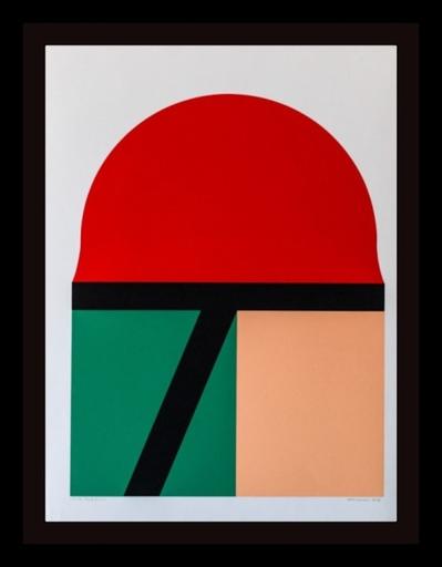 Takesada MATSUTANI - Grabado - Red Sun