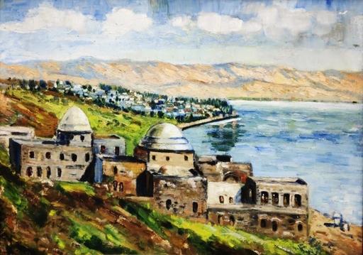 Menachem Schmidt SHEMI - Gemälde - Tiberius