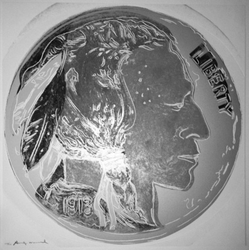 Andy WARHOL - Stampa-Multiplo - Indian Head Nickel