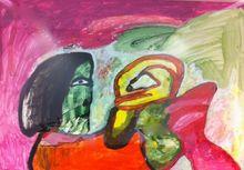 LUCEBERT - Estampe-Multiple - Untitled