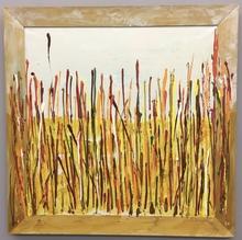 Mario SCHIFANO - Peinture - Campo di Grano