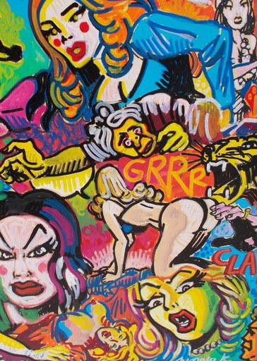 Toto PISSACO - Painting - Clap