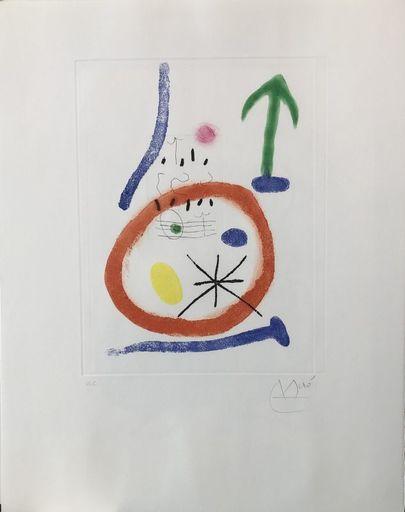 Joan MIRO - Print-Multiple - Chemin de ronde III