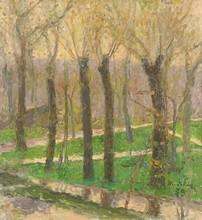 Tatyana Nilovna YABLONSKAYA - Painting - Spring Evening