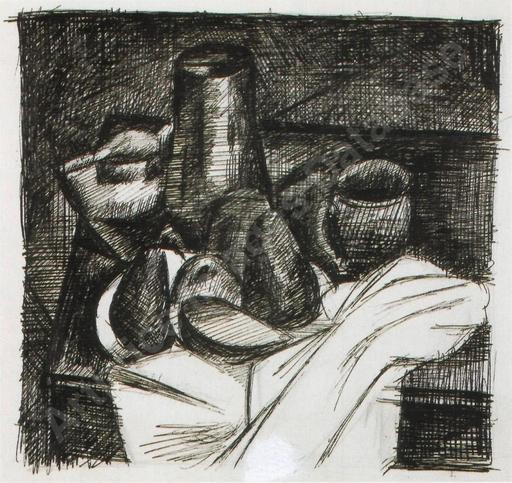 André DERAIN - Drawing-Watercolor - Still life