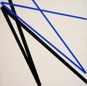Véra MOLNAR - Painting - Double signe sans signification