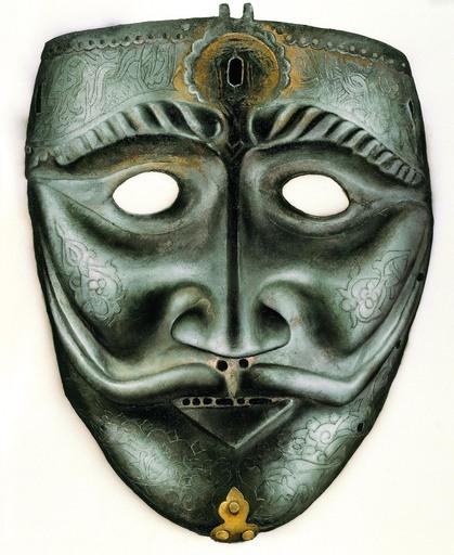 Ismail ACAR - Gemälde - Armour- War Mask