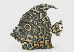 Tobia RAVA - Sculpture-Volume - Pesce segreto (Pesce piccolo)