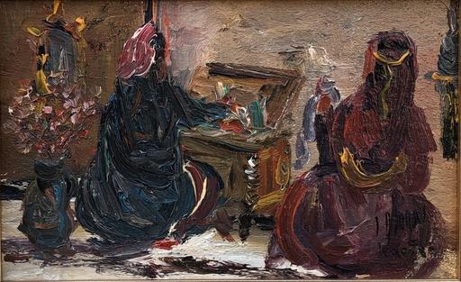 Louis ALBAN - Pintura - Les orientales