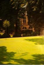 Martin JAGUTTIS-EMDEN - Pittura - Jardin parisien
