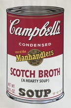Andy WARHOL - Estampe-Multiple - Campbell's Soup II Scotch Broth F&S II.55