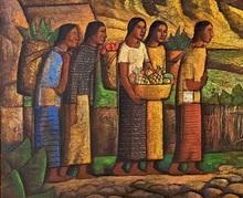 Alfredo RAMOS MARTINEZ - Pintura - Valle de México