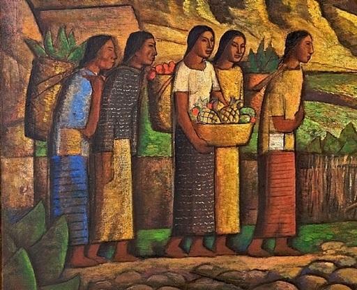 Alfredo RAMOS MARTINEZ - Peinture - Valle de México