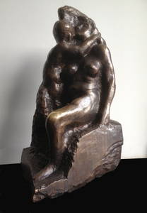 Alfred HRDLICKA - Sculpture-Volume - Faun und Nymphe