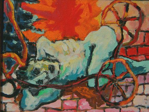 Jacqueline GAINON - Pintura - PORTRAIT - HOMME - MAN