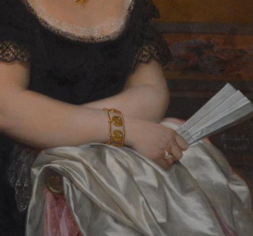 """Emilie ROUILLON - Gemälde - """"Auténtica"""" suegra de Ulpiano Checa"""