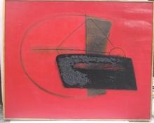 Jean PIAUBERT - Pintura - TEERE FEUX DU CIEL