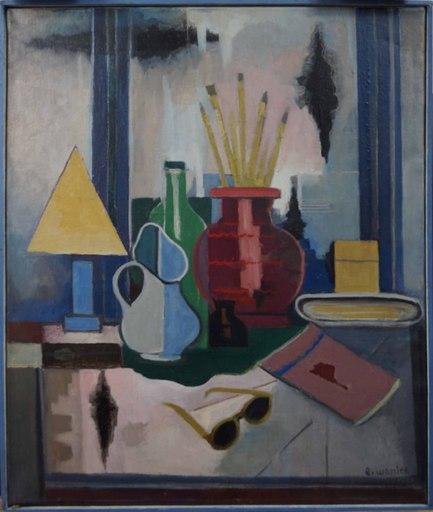 Eugeniusz WANIEK - Gemälde - Still life