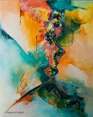Françoise DUGOURD CAPUT - Pittura - Quintessence