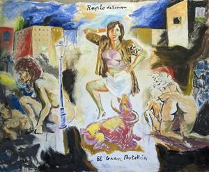 Manuel MONTERO - Peinture - Rapture II (Europa)