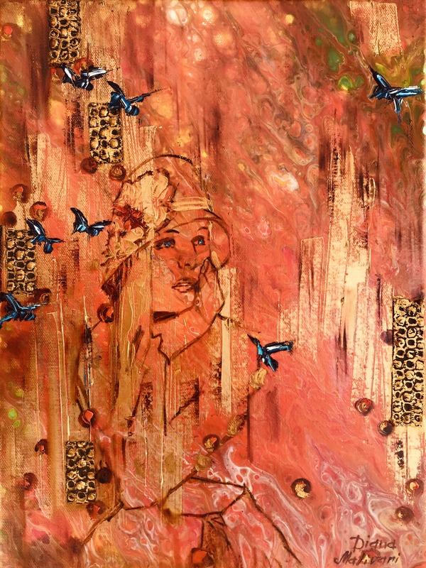 Diana MALIVANI - Pittura - She Who Awaits