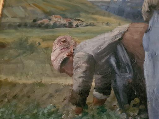 Dominique ROZIER - Painting - La récolte