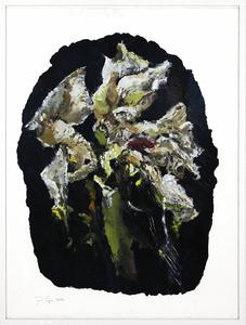 Philippe COGNÉE - Painting - Sans titre (Fleurs B20)