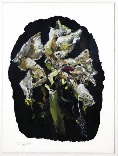 Philippe COGNÉE - Peinture - Sans titre (Fleurs B20)