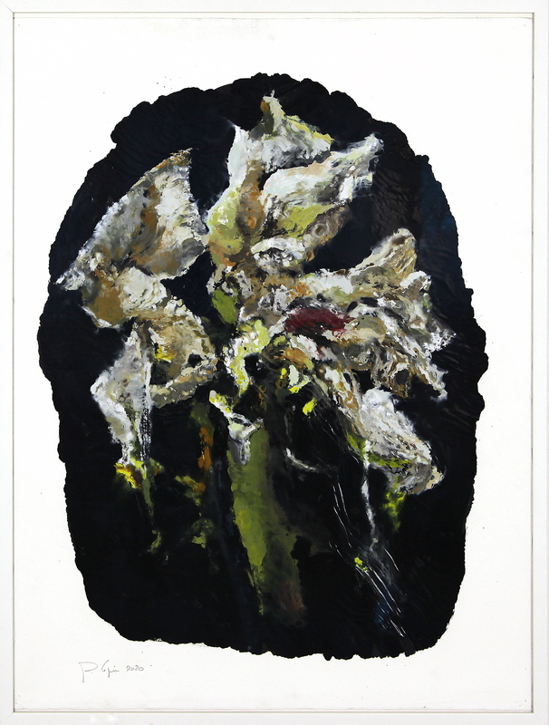 Philippe COGNÉE - Painting - Amaryllis (B20)