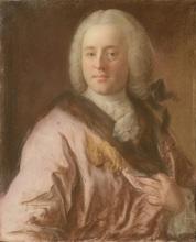 Jean Étienne LIOTARD - Drawing-Watercolor -  Portrait d'un aristocrate