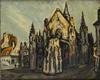 Pierre Jean DUMONT - Gemälde - La Cathédrale