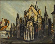 Pierre Jean DUMONT - Peinture - La Cathédrale
