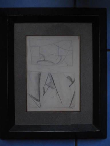 Alfred RETH - Dessin-Aquarelle - COMPOSITION