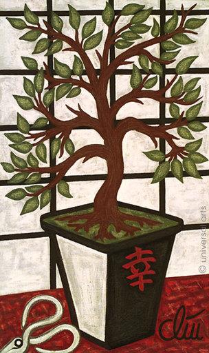 Jacqueline DITT - Painting - Asian Bliss