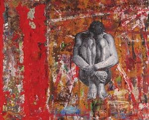 Jacob GILDOR - Painting - untitled