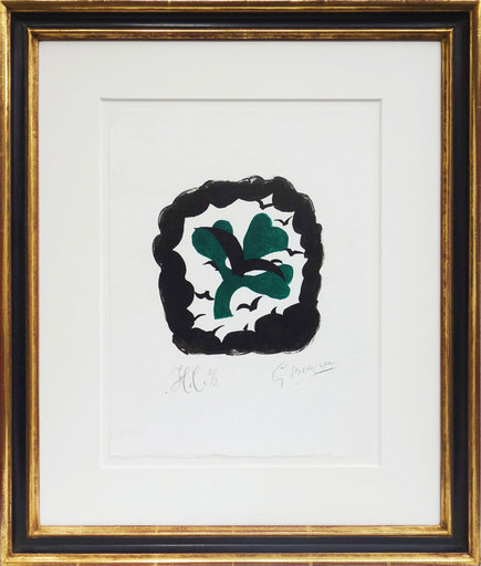 Georges BRAQUE - Print-Multiple - Le Trefle - The clover