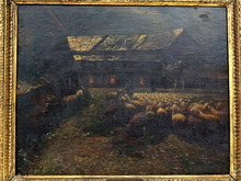 Mario DE MARIA - Pintura - Ritorno all'Ovile