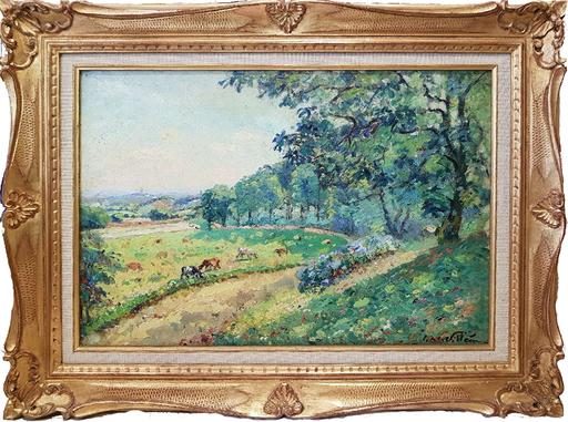 Emmanuel DE LA VILLÉON - Pintura - Parc de Montmuran