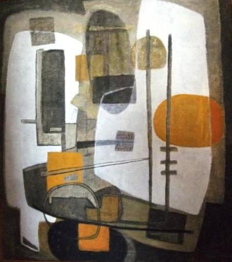 Zora STAACK - Painting - Abstract Composition